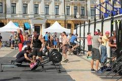 International tournament of CrossFit BANDA - «BANDA Open Games 2016 Royalty Free Stock Photography