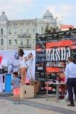 International tournament of CrossFit BANDA - «BANDA Open Games 2016 Stock Photography