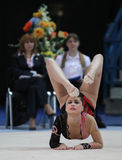 International Tournament in Rhythmic Gymnastics Royalty Free Stock Photo