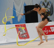 International Tournament in Rhythmic Gymnastics Stock Image