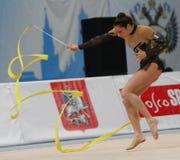 International Tournament in Rhythmic Gymnastics Stock Image