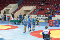 The international tournament on sambo Stock Photo