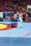 The international tournament on sambo Royalty Free Stock Photos