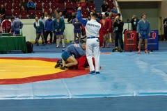 The international tournament on sambo Royalty Free Stock Images