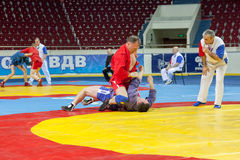 The international tournament on sambo Royalty Free Stock Photography