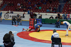 The international tournament on sambo Stock Photography