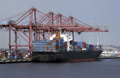 International Trade - Container Ship royalty free stock photography