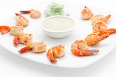 International and traditional dishes Stock Photo