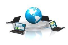 International transaction Stock Photo