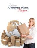 International transportation customer Stock Photos