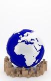 International transportation in Europe. Goods ready for transport and distribution in Europe Royalty Free Stock Photos
