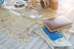 International travel concept. Stock Images