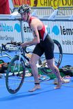 International Triathlon 2012, Geneva, Switzerland Royalty Free Stock Photo