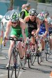International Triathlon 2012, Geneva, Switzerland Stock Images
