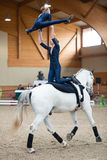 International Vaulting competition on June 16, 2017 in Pezinok, Slovakia Stock Images