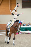 International Vaulting competition on June 16, 2017 in Pezinok, Slovakia Royalty Free Stock Photography