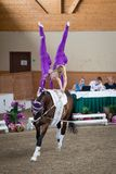 International Vaulting competition in Pezinok, Slovakia on June Royalty Free Stock Images