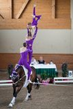 International Vaulting competition in Pezinok, Slovakia on June Stock Image