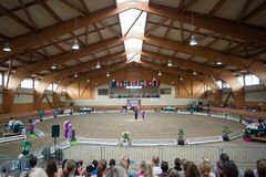 International Vaulting competition in Pezinok, Slovakia on June Royalty Free Stock Photos