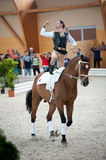 International Vaulting competition, Slovakia Royalty Free Stock Photos