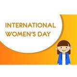 International women day illustration flat design 3. Design illustration icon international women day celebrate vector illustration