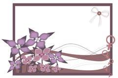 International women's day. Vector flowers for international women's day Stock Photos