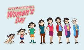 International Womens Day celebration concept. Stock Image