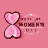 International Women's Day celebration concept. Royalty Free Stock Photos