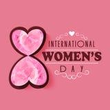International Womens Day celebration concept. Royalty Free Stock Photos