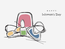 International Women's Day celebration concept. Royalty Free Stock Images