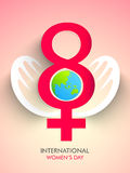 International Womens Day celebration concept. Stock Photos