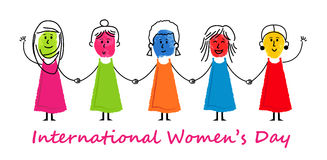 International Women`s Day Royalty Free Stock Image
