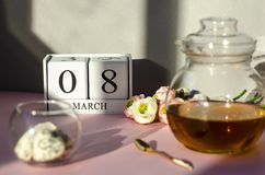International Women`s Day concept. stock photo