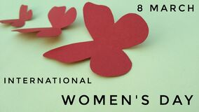 International women`s day image walpapper