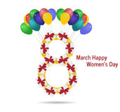 International womens day Royalty Free Stock Photo