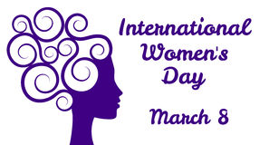 International womens day Royalty Free Stock Photography
