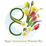 The international womens day vector illustration