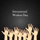 International workers day or May Day backgroundground Royalty Free Stock Photos