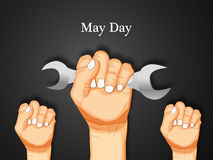 International workers day or May Day backgroundground. Illustration of elements for International workers day or May Day Royalty Free Stock Photos