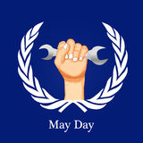 International workers day or May Day backgroundground. Illustration of elements for International workers day or May Day Stock Photos
