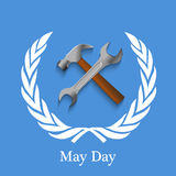 International workers day or May Day backgroundground Stock Photos