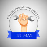 International workers day or May Day backgroundground. Illustration of elements for International workers day or May Day Royalty Free Stock Photography