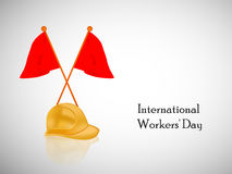 International workers day or May Day backgroundground Stock Photo