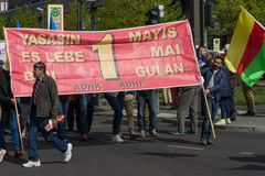 International Workers' Day. 1 May 2016, Berlin, Germany Royalty Free Stock Photography