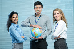 International workgroup Stock Photo