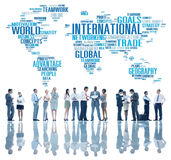 International World Global Network Globalization International C Stock Photography