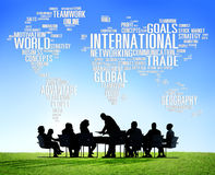 International World Global Network Globalization International C Stock Image