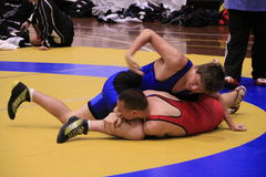 International Wrestling Challenge Auckland NZ Royalty Free Stock Images