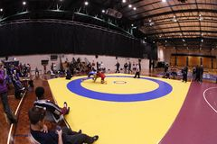 International Wrestling Challenge Auckland NZ Royalty Free Stock Image