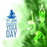 International Yoga Day Royalty Free Stock Photo